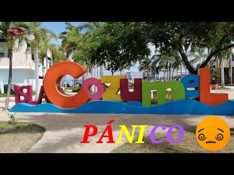 Pánico en Cozumel México