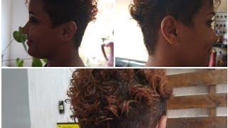Novo corte de cabelo - Pixie Undercut.