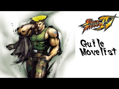 Street Fighter IV - Guile Move List