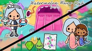 Watermelon wave club Secret&#39s new crumpet&#39s?!?Toca Life WorldToca Friendly