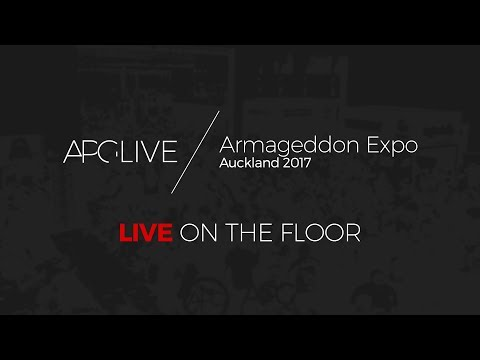 #APGLive Stream : Armageddon Expo 2017 Auckland - Friday - LIVE On The Floor