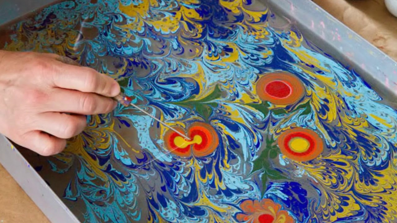 Ebru Art Workshop 土耳奇水拓浮水畫班 Strallow