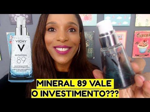 Resenha Serum Mineral 89 da Vichy
