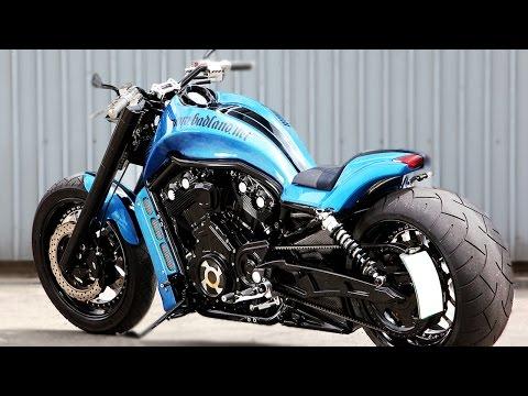 the-beast-harley-davidson-v-rod-in-new-ocean-blue-model-review-|-bikersaw