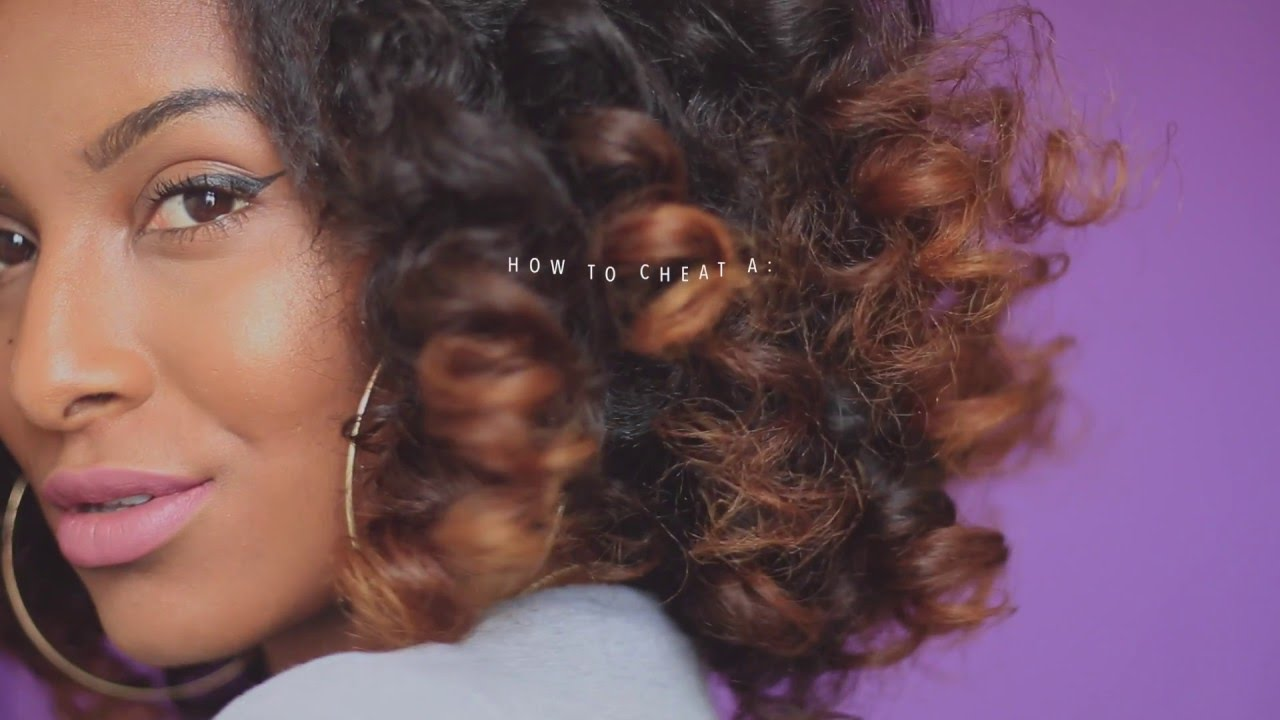 How To Cheat A Perm Rod Set Heatless Curls Naturalneiicey