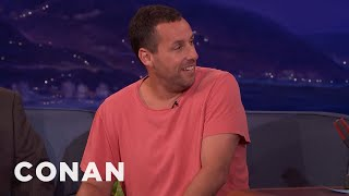 """Sandy Wexler"" Is Based On Adam Sandler's Real-Life Manager  - CONAN on TBS"