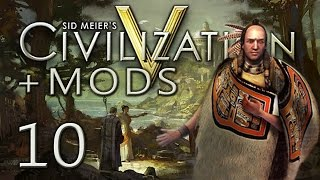 Civ 5: Chinook Tribe, Ep 10 (Killing a City-State)