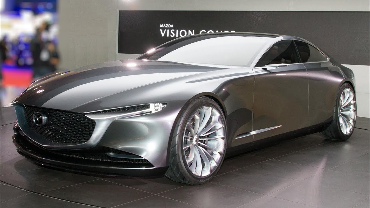 Salon de tokyo 2017 mazda vision coupe concept youtube - Concept salon de the ...