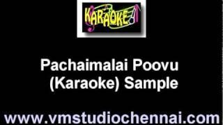 Tamil Karaoke Pachaimalai Poovu Karaoke