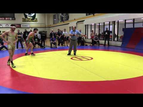 2015 Golden Bear Invitational: 82 kg Steven Clark vs. Andrew Johnson