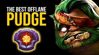 King Potato Pudge - THE BEST Pudge Offlane Ever | Pudge Official