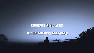 ALICE COOPER I AM MADE OF YOU SUB ESPAÑOL