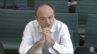 Cummings Single Market Treasury Committee