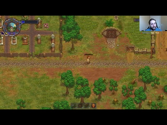 Graveyard keeper speedrun (Trial 3): 01