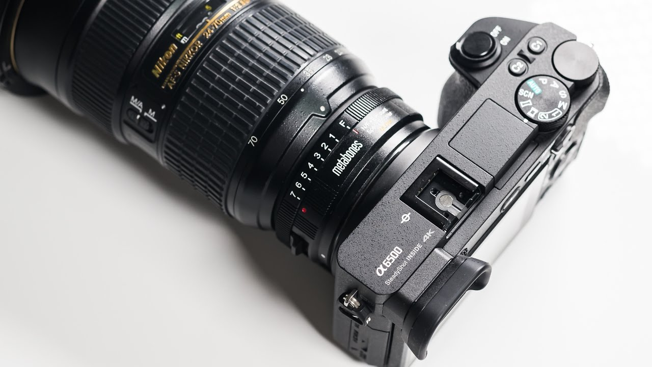 NIKON to SONY - USE YOUR A6500 AS A FULL FRAME - YouTube