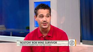 """Boston"" Rob Mariano on ""Survivor"" win"