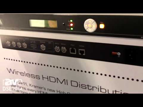DSE 2014: Kramer Shows KDS-EN1 H.264 HD IP Encoder