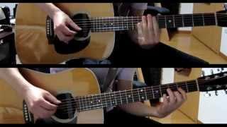 """COWBOY BEBOP """" Felt Tip Pen """" acoustic guitar duo"""