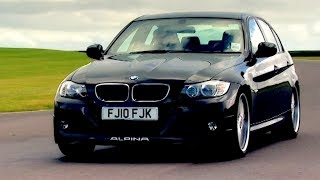 Stock BMW 320d vs Alpina D3 Biturbo Fifth Gear смотреть