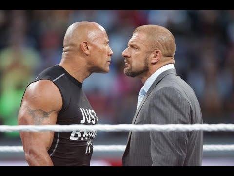 The Rock vs Triple H thumbnail