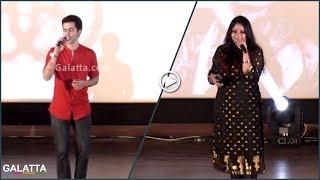 Singer Krish & Vandana Excellent Performance@Bhaskar Oru Rascal Audio Launch