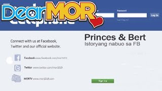 "Dear MOR: ""Facebook @ Cellphone"" The Princes & Bert Story 08-09-14"