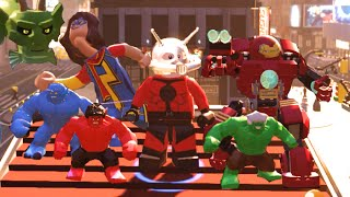 Lego Marvels Avengers All Big Figure Transformations