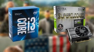 overclockable Combo - Intel i3-7350k  EVGA GTX 1050 Ti SC 60fps Benchmark - 8 Games Tested in 2018
