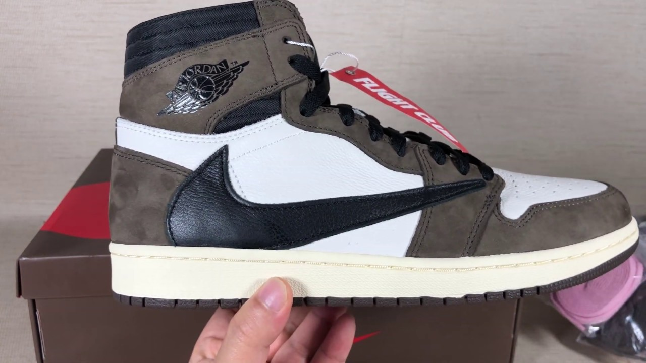 reputable site 6f102 1daca Travis Scott Air Jordan 1 - The Shoe of the Year?bought 2996$ from flight  club