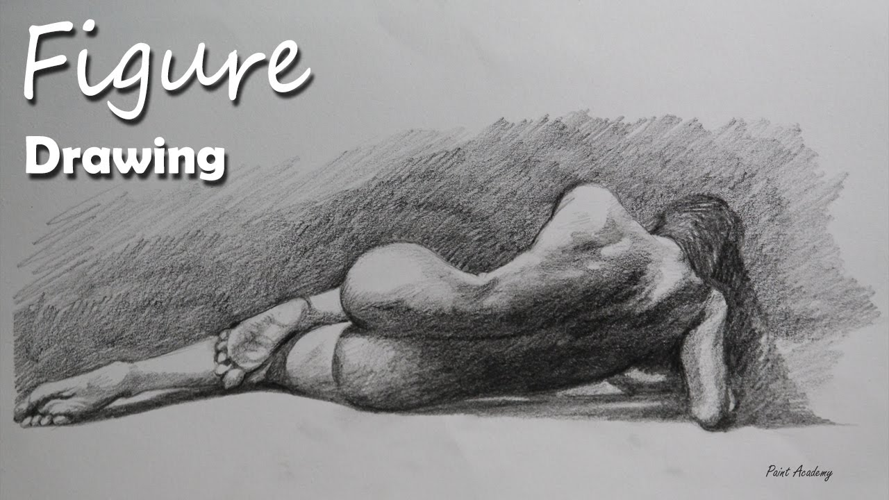 Figure drawing figure study in pencil youtube