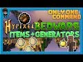 [Minecraft 1.13] Bedwars Items and Generators In One Command! (Or Data Pack)