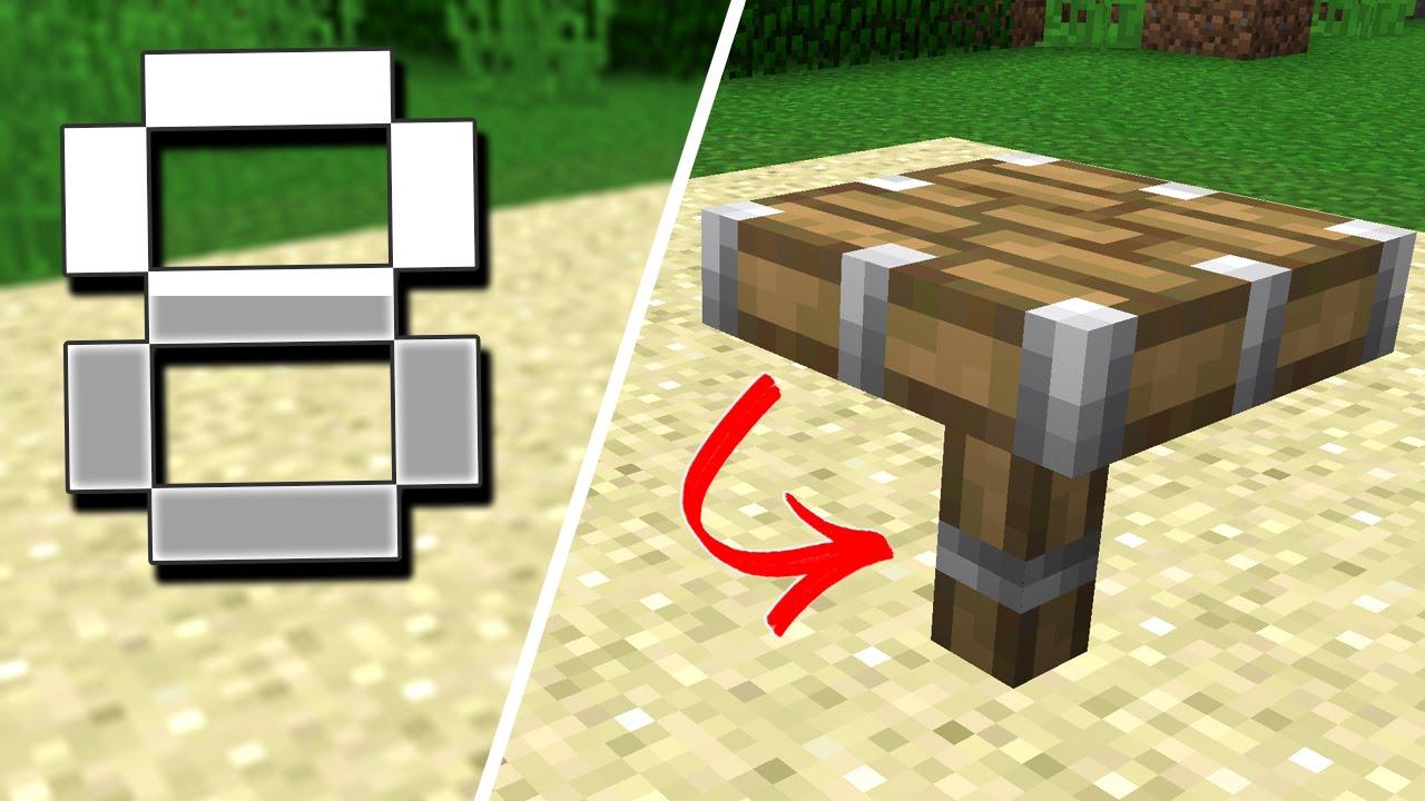 8 secret minecraft blocks (vanilla minecraft) - youtube