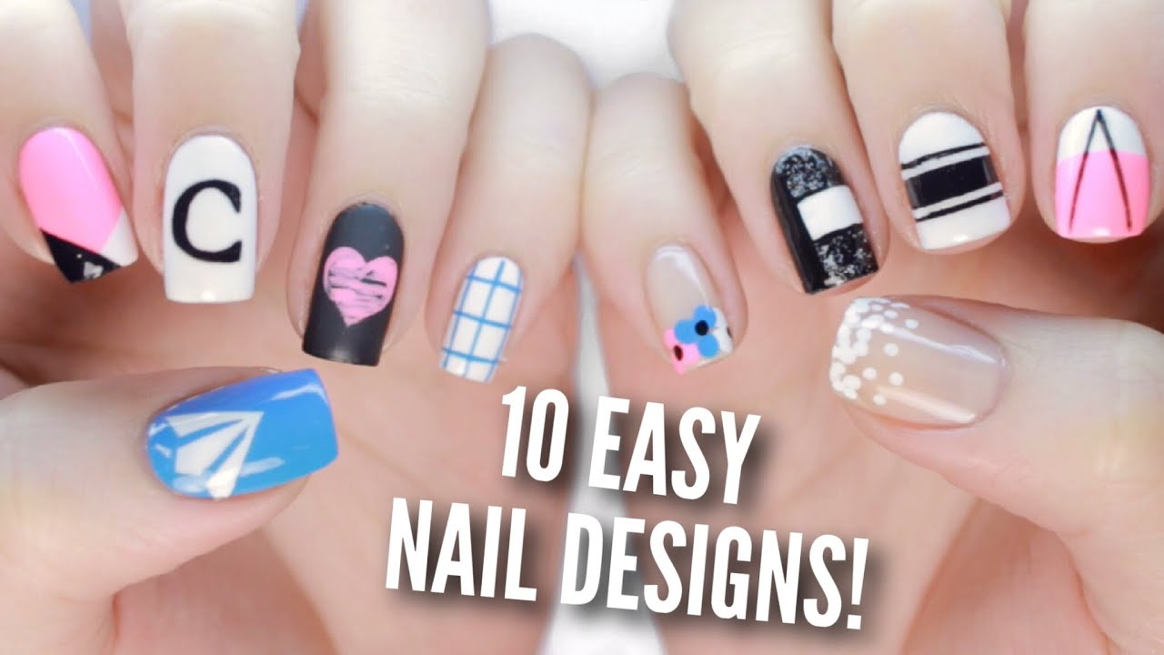 10 Back To School Nail Art Designs: The Ultimate Guide #2 - YouTube