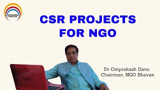 CSR PROJECTS | CORPORATE SOCIAL RESPONSIBILITY | PROJECTS FOR NGO