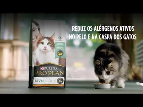 PURINA ProPlan  Lançamento Live Clear