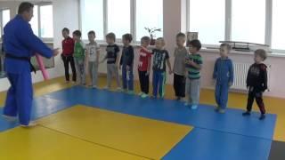 Первый открытый урок по дзюдо - 1. КОВСБИ * Хаттацу * ( ул. Героев Сталинграда, 33 - б )