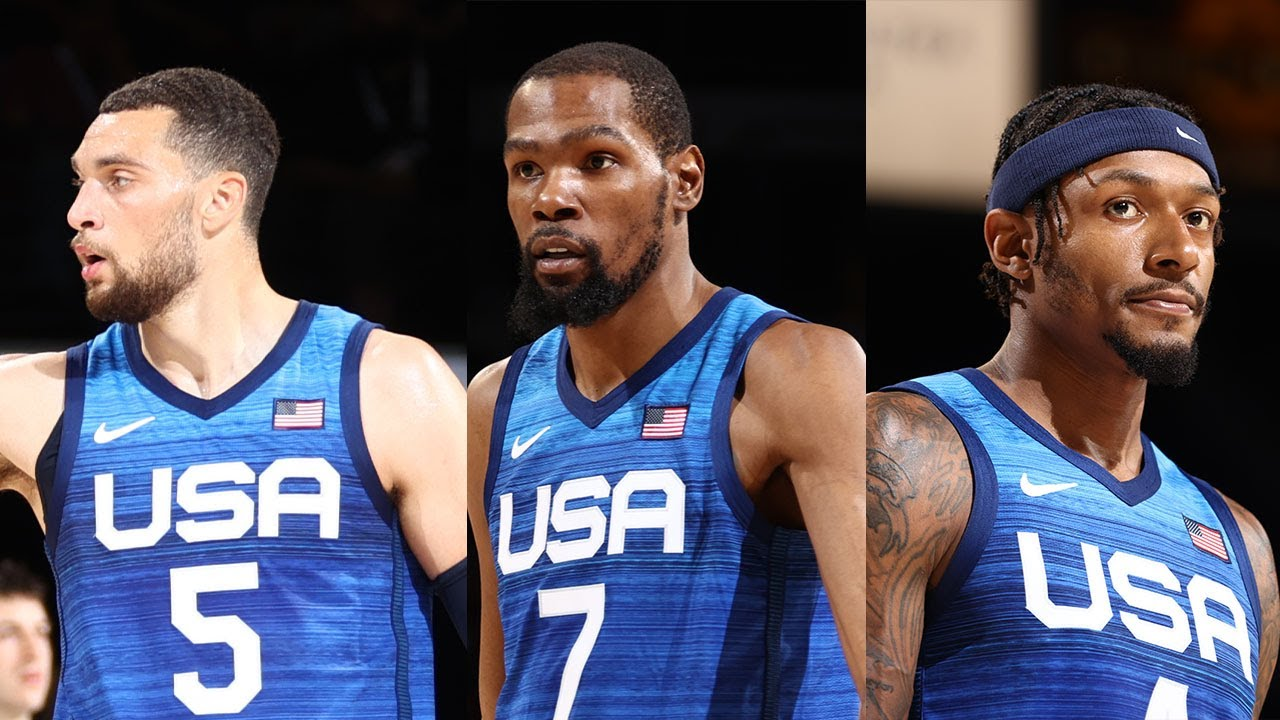 Kevin Durant, Bradley Beal & Zach LaVine All Drop DOUBLE-DIGITS In USA Victory! 🔥