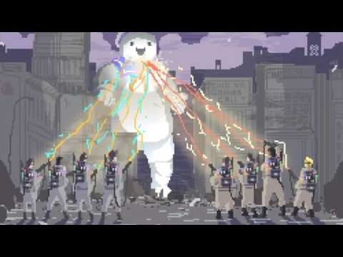 Ghostbusters Theme Tribute - 8-bits Version w/ Animated GIF