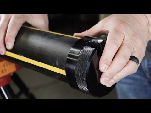 Prepping HDPE Pipe & Fittings For Socket Fusion