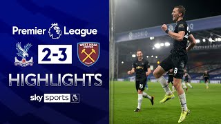 Soucek hits double as West Ham move in to fourth! | Crystal Palace 2-3 West Ham | EPL Highlights