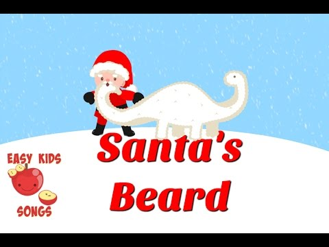 Santa's Beard (A Christmas Song)  | Easy Kids Songs