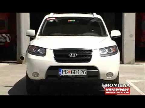 Hyundai Santafe 22 Crdi Test Review Motorsport Magazin Youtube