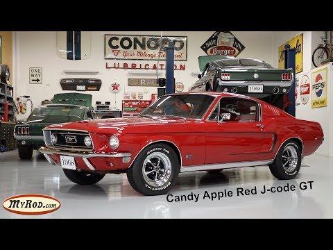 1968 Mustang GT Fastback J-code - MyRod.com