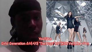First time reactin Girls' Generation 소녀시대 'The Boys' MV (KOR…
