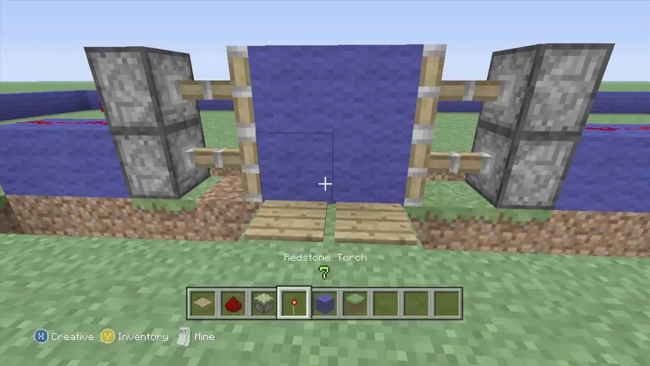 Easy, COMPLETELY Hidden Minecraft Piston Door: 4 Steps