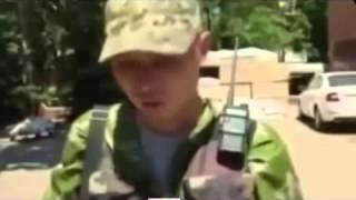 Украина Новороссия 06 07 2014 ВЫ БАНДЕРОВЦЫ НЕ ВОЙСКА, ВЫ ПРОСТИТУТКИ УБЕГАЙТЕ ПОКА ЕСТЬ ВРЕМЯ