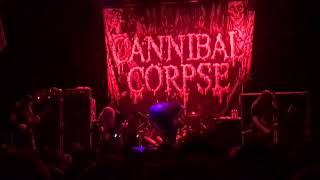 "Cannibal Corpse ""Only One Will Die"" "" Red Before Black"" Live"