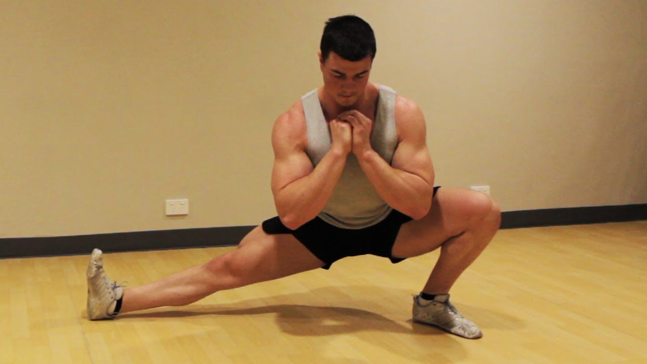 How to Cossack Squat Mobility Exercise: Tutorial ...