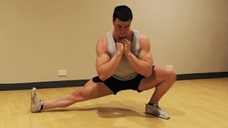 How to Cossack Squat Mobility Exercise: Tutorial & Progressions