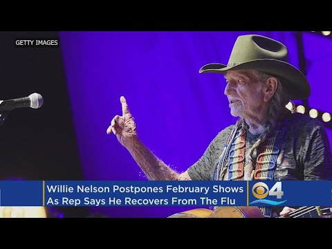Willie Nelson Cancels February Tour Dates Because Of Flu